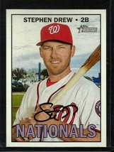 2016 Topps Heritage High Number #594 Stephen Drew NM-MT Nationals - $0.99