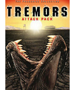 TREMORS: Attack Pack (4-Tremors Movies!) [DVD, 2005 2-Disc Set] ~ - $8.91