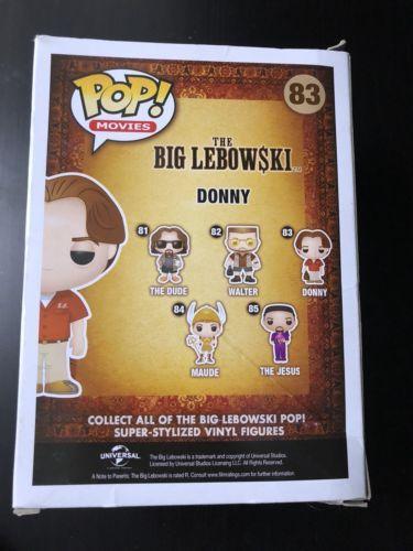 Funko POP Movies The Big Lebowski Donny Vinyl Figure #83
