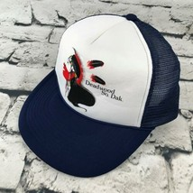 Deadwood So. Dakota Boys Snapback Hat Navy Blue Trucker Style Baseball Cap - $9.89