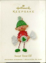 Hallmark Keepsake - Sweet Treat Elf Candy Peppermint Gumdrop Ornament 2008 - $9.89