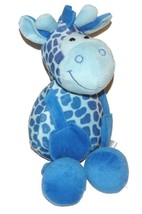 "2008 Coinstar Sugar Loaf Blue Giraffe Plush Lovey Stuffed Animal 16"" Toy - $24.63"