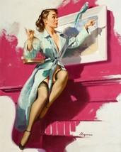 Art Print Poster Pretty Cagey Vintage Style Elvgren - $3.55+