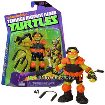 """Year 2013 Teenage Mutant Ninja Turtles TMNT 5"""" Figure Stealth Tech MICHE... - $34.99"""