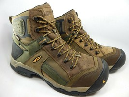 Keen Davenport AL Size 12 2E WIDE EU 46 Men's Composite Toe Work Boots 1016962EE