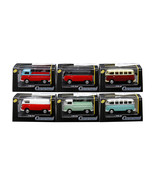 Volkswagen Set of 6 Cars in Display Cases 1/72 Diecast Model Cars by Car... - $42.17