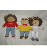 Eden Arthur Francine DW Set Lot Stuffed Plush Cloth Dolls - $29.69