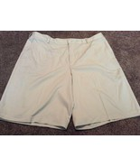 Beige Tan Khaki Nike Fitdry Men's Golf Shorts Size 40 EUC! Fit Dry - $19.79