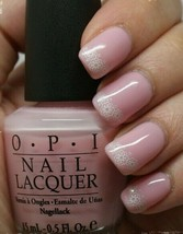 Opi Kiss On The Chic Sheer Pink French Manicure Nail Polish Lacquer H31 .5oz New - $9.39