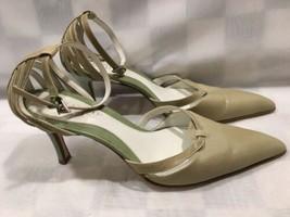 Franco Sarto Verde Tacón Alto Tira Mujer Zapato Talla 6.5 M - $20.77