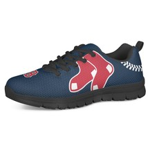 Boston Red Sox Men Fan Unofficial Running Shoes, sneakers Trainers Unisex - $69.99