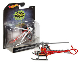 Hot Wheels Classic TV Series Batcopter New in Package - $9.88