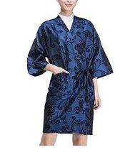 Salon Client Gown Upscale Robes Beauty Salon Smock for Clients, Blue