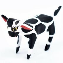 Handmade Alebrijes Oaxacan Wood Carved Painted Folk Art Cow Miniature Figure image 2