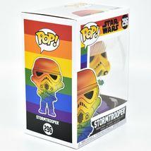 Funko Pop! Marvel Pride 2021 Rainbow Star Wars Stormtrooper #296 Vinyl Figure image 5