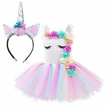 Unicorn Costume for Girls Dress Up Clothes for Little Girls Rainbow Unicorn - $41.90