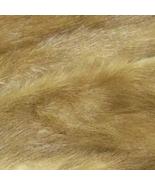 Light Brown Mink Fur Scrap For DIY - $45.00