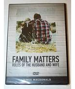 Family Matters Roles of the Husband and Wife [DVD] - $14.35
