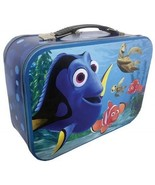 Walt Disney's Finiding Nemo Dory Large Carry All Tin Tote Lunchbox, NEW ... - $17.41