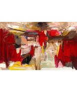 Wild Red Painting by Dalia Kantor - $1,185.00+