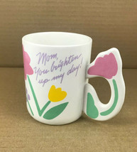 "Avon Gift Collection Ceramic Coffee Mug Flowers  ""Especially For You Mom... - $7.01"