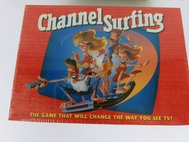 Channel Surfing Family Board Game (1994, Milton Bradley) - $8.59