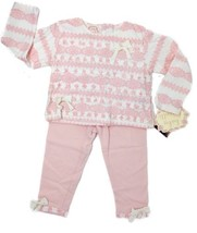Biscotti Baby Girls 2pcs Top & Pant Outfit Pink Size 18 Months Pink Cott... - $28.04