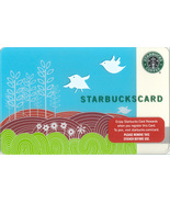 Starbucks 2009 Swallow's Song Collectible Gift Card New Free Shipping - $7.99