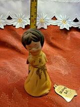 Vintage 1978 • Jasco • Angel Wishing Bell • Fine Bisque Porcelain • Handcrafted image 3