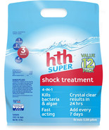 hth 52016 Super Swimming Pool Shock, Pack of 12 - $44.55+
