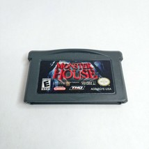 Monster House Nintendo Game Boy Advance GBA 2006 LOOK Free Same Day Shipping - $12.17