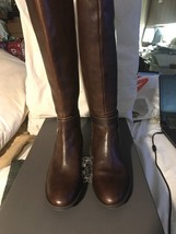 NWB! Vince Camuto Prini Wide Calf Tall Boots, Coffee Grind, Size 5M - £66.63 GBP