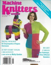 Machine Knitters Source Jan Feb 1999 Magazine Bulky Cables Patterns & More - $5.93
