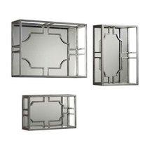 Uttermost 23 in. 3-Pc Wall Shelf Set in Silver - $424.60