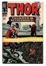 Thor #130 Comic Book 1966-MARVEL COMICS-KIRBY Hercules fn- - $37.83