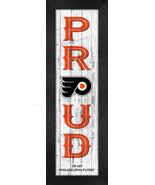 "Philadelphia Flyers ""Proud and Loyal"" - 8 x 24  Wood-Textured Look Frame... - $39.95"