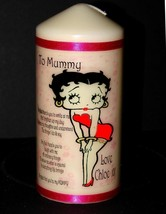 Betty Boop personalised keepsake candle unique collectable gift present ... - $17.99