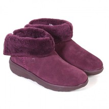 Fitflop Mukluk Shorty Boots Deep Plump UK Size 4 - £58.64 GBP