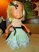 Vintage Uneeda Little Sophisticates Marika Blonde Doll 1967 Original Dress - $28.04