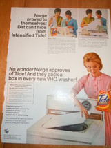 Vintage Tide Print Magazine Advertisement 1966 - $7.99