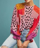 Anthropologie Eclectic Peasant Blouse by Bl-nk Sz SP - NWOT - $188.09