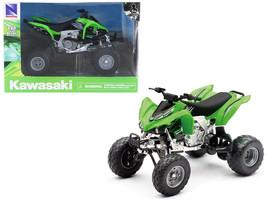 Kawasaki KFX 450R ATV Green 1/12 Motorcycle Model by New Ray - $35.13