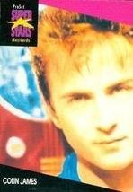 Colin James trading Card (Musician) 1991 Proset Musicards Super Stars #190 - $3.00