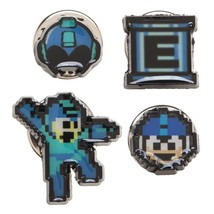 Mega Man Video Game Lapel 4 Pin Set - $17.95