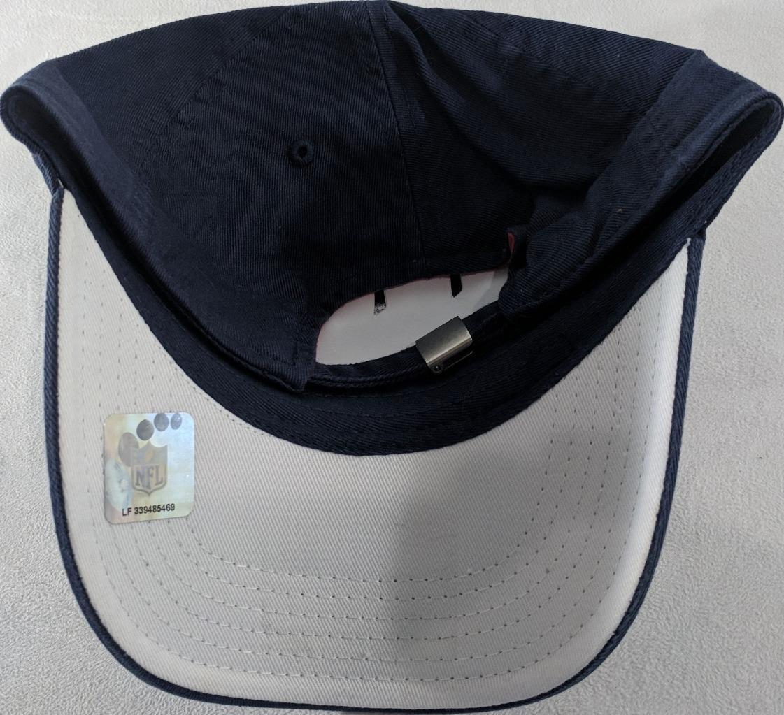 LZ NFL Team Apparel Girl's One Size OSFA Houston Texans Baseball Hat Cap NEW i60 image 3