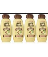 (4)GarnierWholeBlends Nourishing Shampoo,Avocado Oil &SheaButterExt.,12.... - $20.78