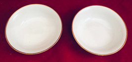 "Johann Haviland Berry Bowls (2) Gold Trim excellent 4-7/8"" x 1-5/8"" Germany - $17.42"