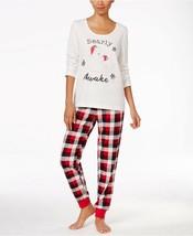 Family Pajamas Macy's Women's L/S Pajama Set F17104652 Buffalo Check XS ... - $25.20