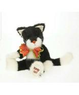 Boyds 10 inch Plush, 'Scardy Cat', Halloween Black Cat, New, Retired, 40... - $32.00
