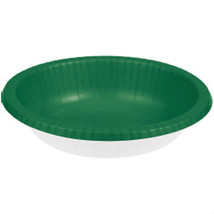 Touch of Color 20 oz Paper Bowl  Emerald Green/Case of 200 - €48,45 EUR